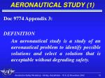 aeronautical study 1