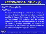 aeronautical study 2