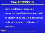caa actions 2