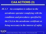 caa actions 3