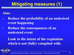 mitigating measures 1