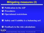 mitigating measures 2