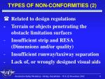 types of non conformities 2