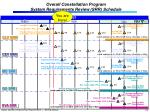 overall constellation program system requirements review srr schedule