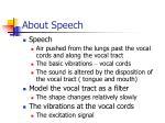 about speech