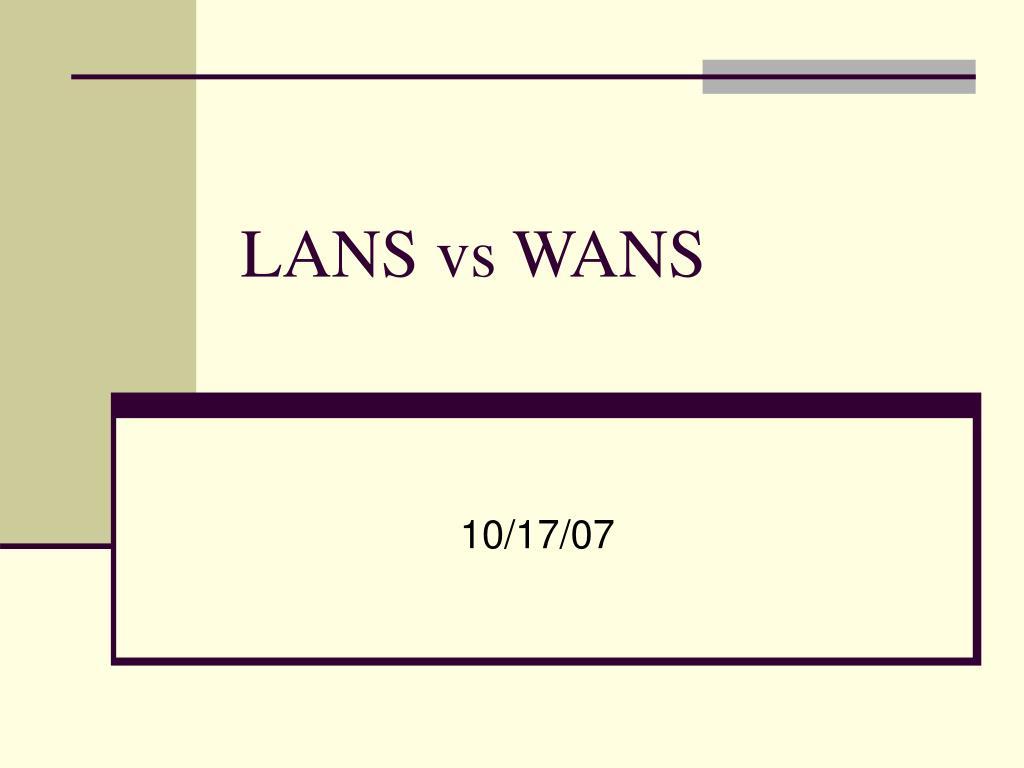 lans vs wans l.