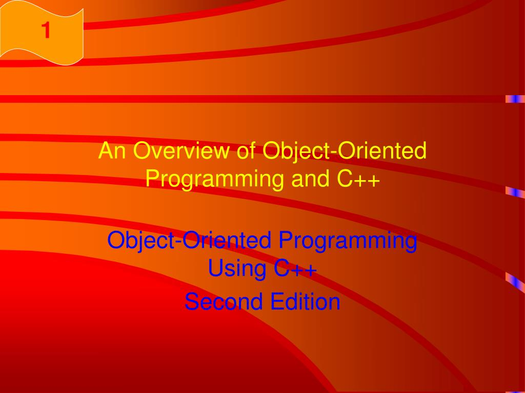 an overview of object oriented programming and c l.