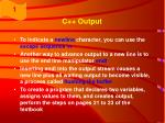 c output41
