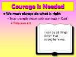 courage is needed12