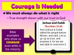courage is needed14