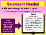 courage is needed16
