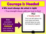 courage is needed17