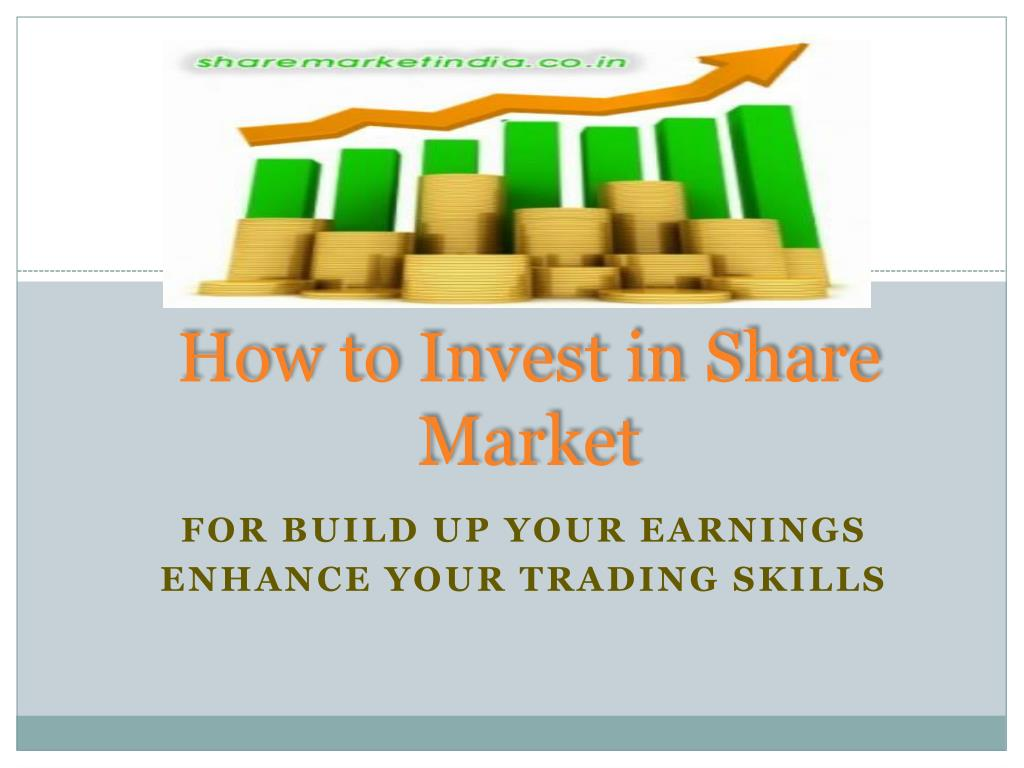 how to invest in share market l.