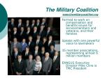 the military coalition www themilitarycoalition org