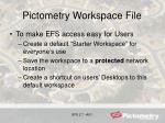 pictometry workspace file