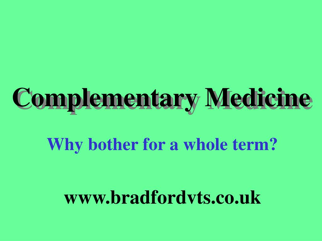 complementary medicine l.