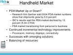 handheld market