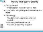 mobile interactive guides