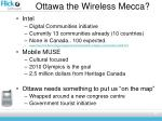 ottawa the wireless mecca