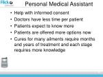 personal medical assistant