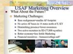 usaf marketing overview6