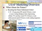 usaf marketing overview8