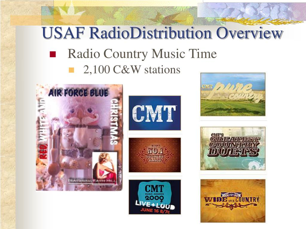 USAF RadioDistribution Overview