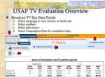 usaf tv evaluation overview26