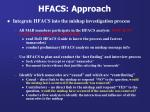 hfacs approach
