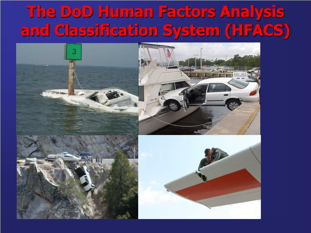 the dod human factors analysis and classification system hfacs l.
