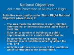 national objectives aid in the prevention of slums and blight19