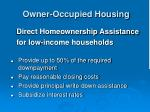 owner occupied housing32