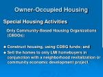 owner occupied housing33