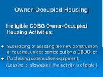 owner occupied housing34