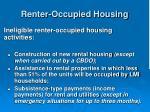 renter occupied housing36