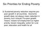 six priorities for ending poverty39