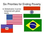 six priorities for ending poverty40