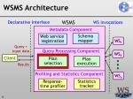 wsms architecture