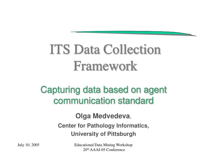 its data collection framework n.