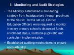 6 monitoring and audit strategies