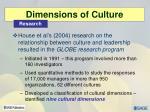 dimensions of culture9