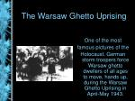 the warsaw ghetto uprising12