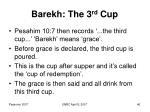 barekh the 3 rd cup