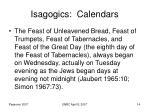 isagogics calendars14