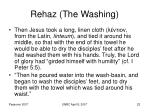 rehaz the washing