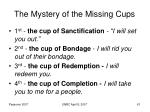 the mystery of the missing cups61