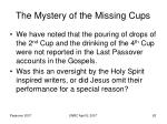 the mystery of the missing cups62