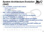 system architecture evolution sae
