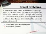 travel problems