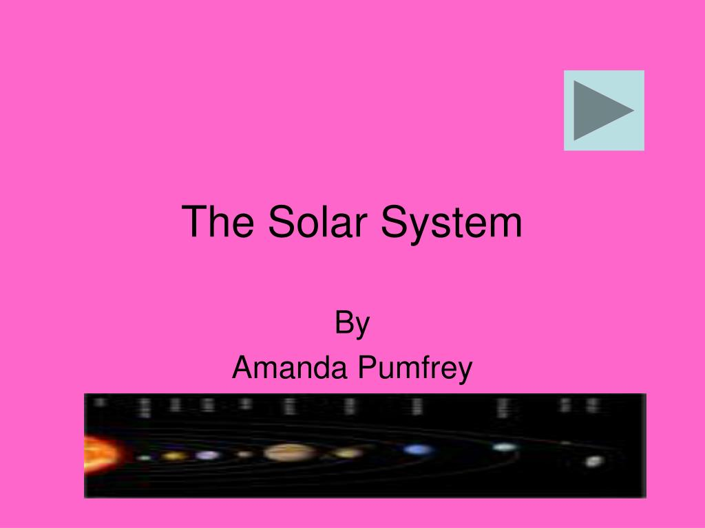the solar system l.